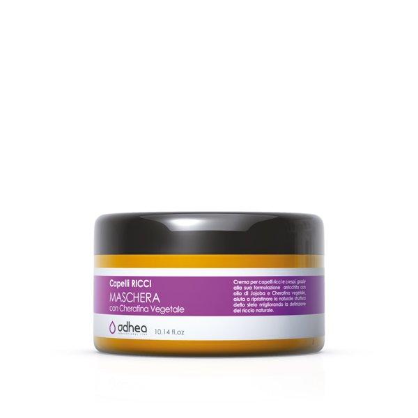 Maschera olio per capelli ricci